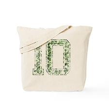 10, Vintage Camo Tote Bag