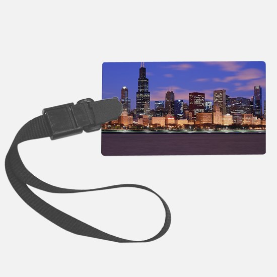 Morning Clouds Luggage Tag