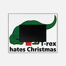 T-rex hates Christmas Picture Frame