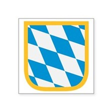 "Bavaria flag Square Sticker 3"" x 3"""