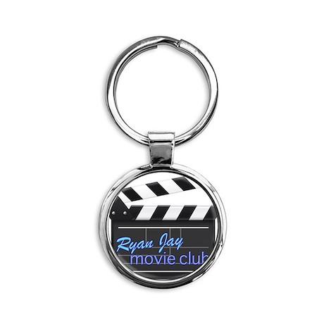 Ryan Jay Movie Club Round Keychain