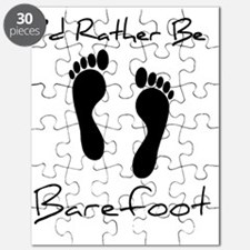 Id Rather Be Barefoot Puzzle