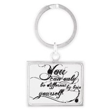 Be Yourself Landscape Keychain
