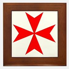 redcrossmaltese Framed Tile