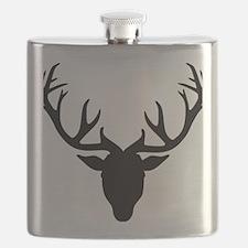 Deer antlers Flask