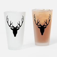 Deer antlers Drinking Glass
