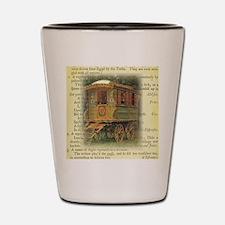 gypsy wagon 2 Shot Glass