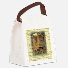 gypsy wagon 2 Canvas Lunch Bag