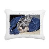 Schnauzer Rectangle Canvas Pillows