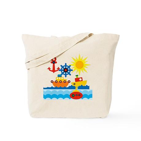 On The Ocean Blue Tote Bag