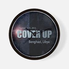 Benghazi Cover Up Wall Clock