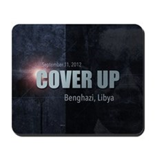 Benghazi Cover Up Mousepad