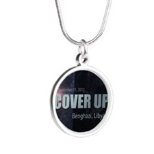 Benghazi Cover Up Silver Round Necklace