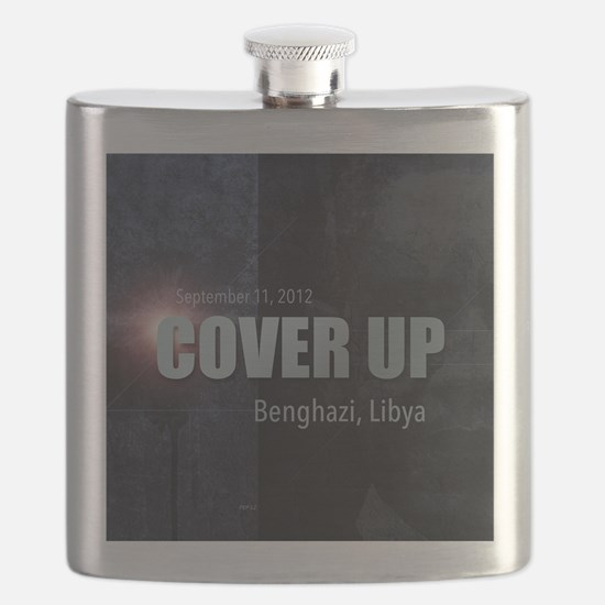 Benghazi Cover Up Flask
