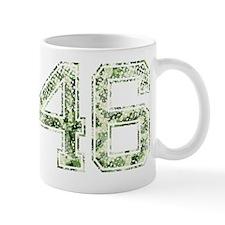 46, Vintage Camo Mug