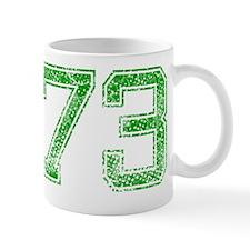 73, Green, Vintage Mug