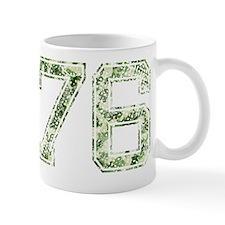 76, Vintage Camo Mug
