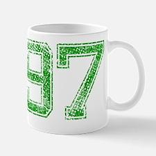 97, Green, Vintage Mug
