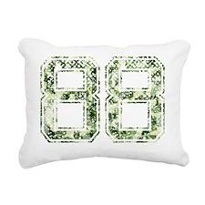88, Vintage Camo Rectangular Canvas Pillow