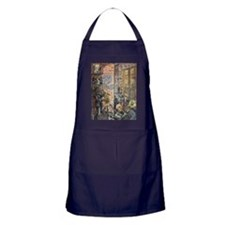 Back Alley Blues Apron (dark)