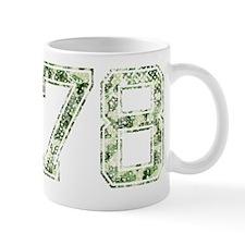 78, Vintage Camo Mug