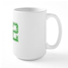 42, Green, Vintage Mug