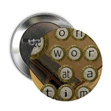 """One Word at a Time 2.25"""" Button"""
