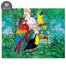 Tropical Birds 37x30 Puzzle
