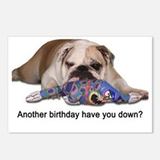 Birthday Blues Postcards (Package of 8)