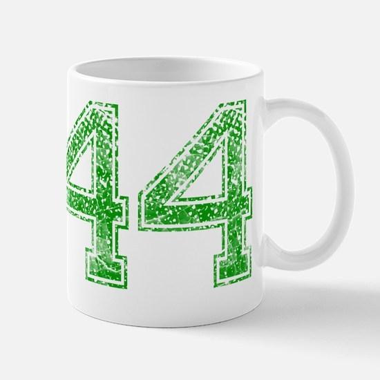44, Green, Vintage Mug