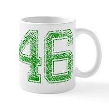 46, Green, Vintage Mug
