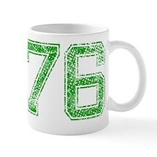 76, Green, Vintage Mug