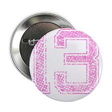 "13, Pink 2.25"" Button"