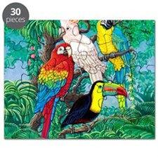 Tropical Birds 29x27 Puzzle