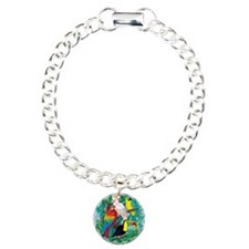 Tropical Birds 29x27 Bracelet