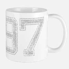 97, Grey, Vintage Mug