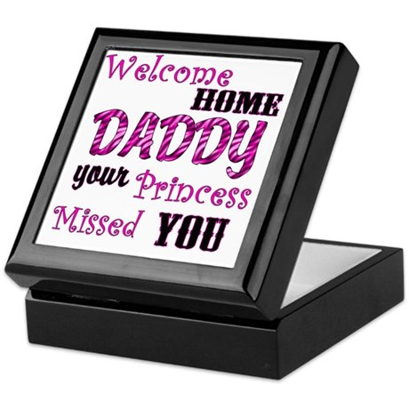 welcome home daddy coloring pages - welcome home daddy keepsake box by admin cp10048422