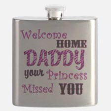 Welcome Home Daddy Flask