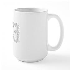 73, Grey, Vintage Mug