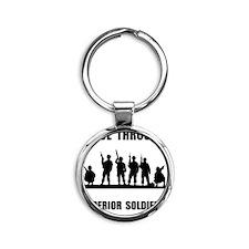 Superior Soldiers Round Keychain