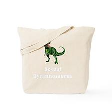 Sexual Tyrannosaurus Tote Bag