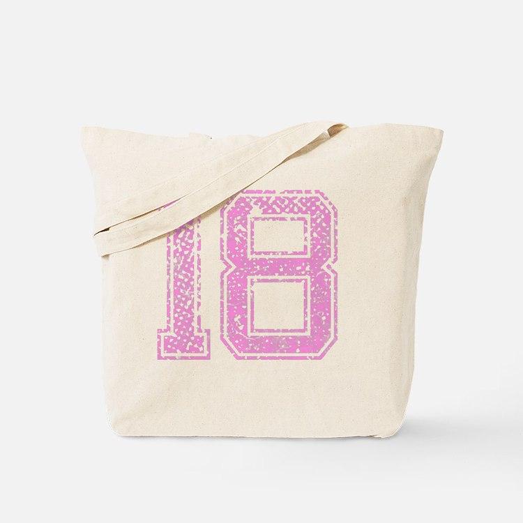 18, Pink Tote Bag