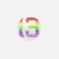 13, Gay Pride, Mini Button