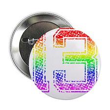 """13, Gay Pride, 2.25"""" Button"""