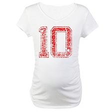 10, Red, Vintage Shirt