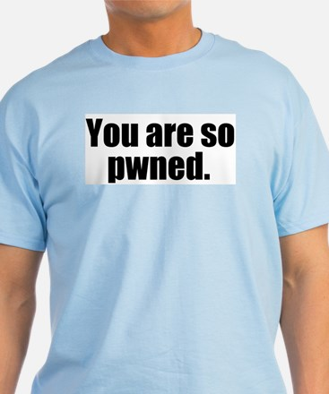Pwned Light Blue T-Shirt