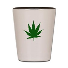 Vegetarian Weed Shot Glass