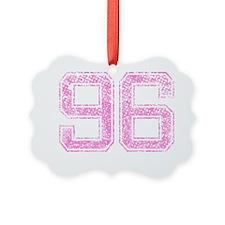 96, Pink Ornament
