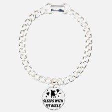 Sleeps with Pit Bulls Bracelet