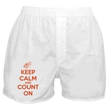 Keep Calm and Count On Boxer Shorts